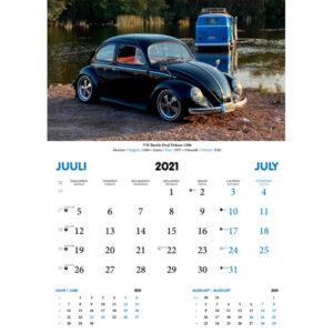 Aircooled Club Estonia kalender 2021